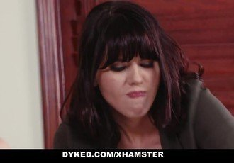 Dyked - Straight Teen Dominated By