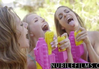 NubileFilms - Playful Coeds Have