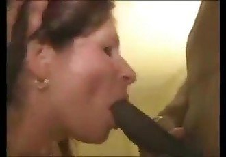 Noisy milf with bbc